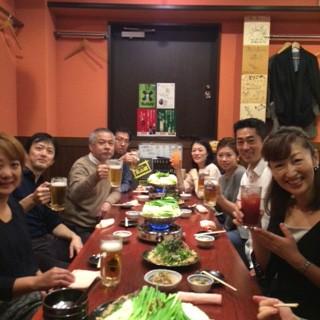 歯科技工士 榊原先生との勉強会の後の食事会