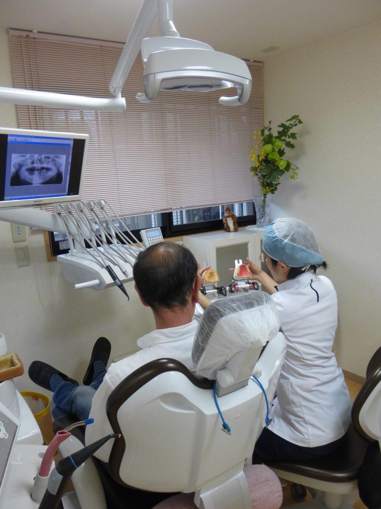 入れ歯を作る時の診査・診断
