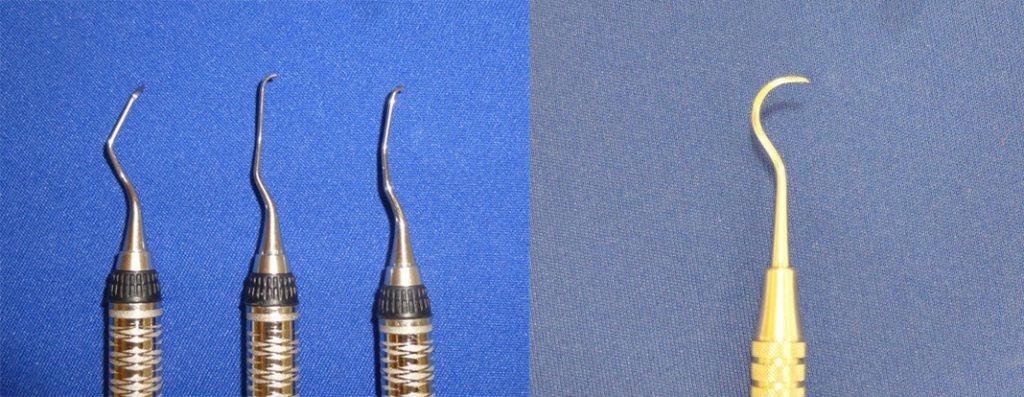 歯石除去のために使う道具